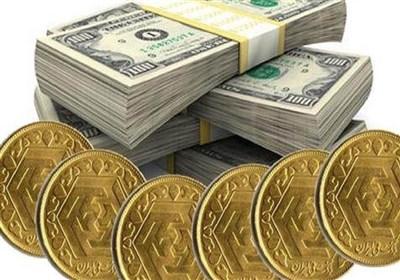 قیمت طلا، قیمت دلار، قیمت سکه و قیمت ارز امروز 97/01/23