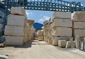 """مشهد نیمی از کارخانههای سنگبری تعطیل شدهاند؛ """"دلالی"""" آفت صنعت سنگ خراسان"""