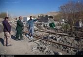 زلزله خسارتهایی به منازل و اماکن بخش سومار وارد کرد