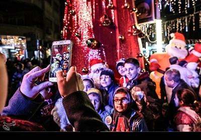 دمشق میں کرسمس جشن سے تسنیم کی ویڈیو رپورٹ