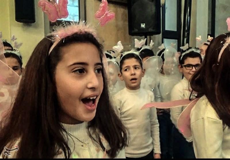 """المسیحیون فی """"الحسکة"""" السوریة یحتفلون بالأعیاد ویتمسکون بالجیش والأرض +فیدیو"""