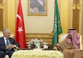 رایزنی نخست وزیر ترکیه و شاه عربستان درباره بیت المقدس