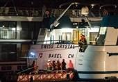 27 Injured after Swiss Cruise Ship Hits Rhine River Bridge Pylon