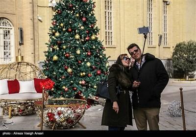 محله جلفای اصفهان در آستانه سال نو میلادی
