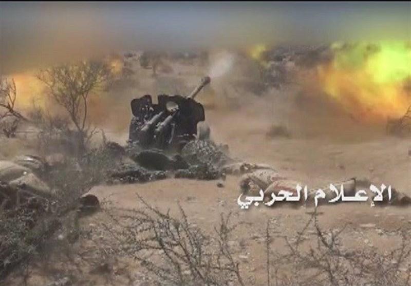 المدفعیة الیمنیة تدک تجمعات جنود سعودیین فی نجران وجیزان وعسیر
