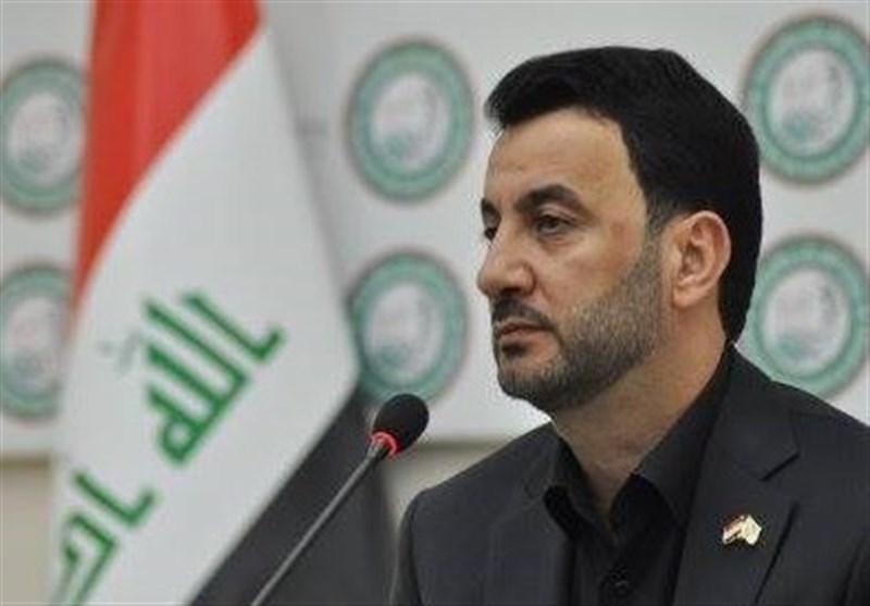 وزیر الشباب والریاضة العراقی یصل الى طهران