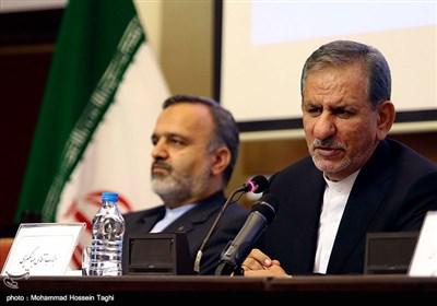 جهانگیری: کشورهایی که بعد از تحریم آمریکا ایران را ترک کنند، این عمل در کارنامه شان ثبت می شود