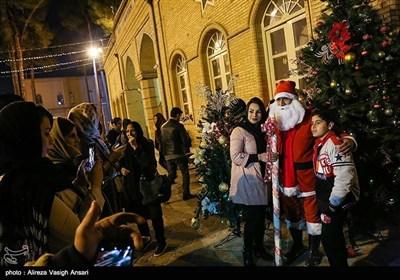 اصفہان میں مسیحی برادری کا کرسمس اور نئے سال کی آمد پر جشن