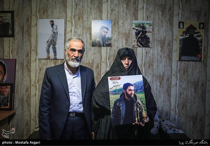 پدر شهید مدافع حرم حسین معزغلامی دعوت حق را لبیک گفت