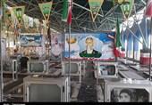 مزار سردار شهید سید حمید تقویفر از شهدای مدافع حرم استان خوزستان