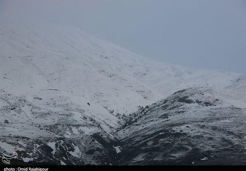 برف در ارتفاعات استان گلستان | ۱۳ دی ۹۶