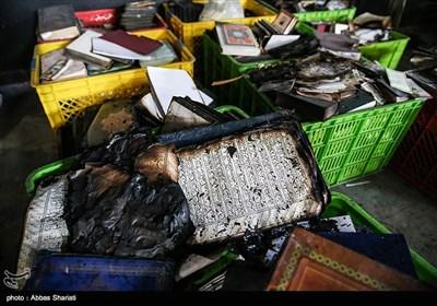 حسینیه قدیمی سادات که حدود ۵۰۰ سال قدمت دارد، بامداد هفتم دی توسط دو فرد موتورسوار آتش زده شد.