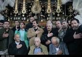 وداع با شهدای گمنام در حسینیه سوخته درکه
