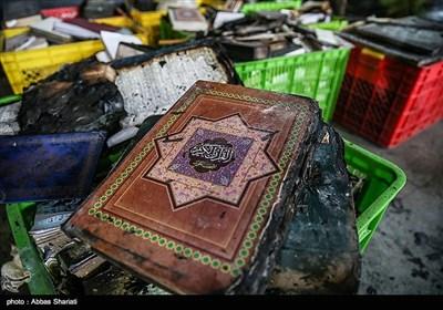 با توجه به فضای حسینیه به سرعت اقلام داخل آتش گرفته و متأسفانه امکان ورود به محیط نبوده و در کوتاهترین زمان همه حسینیه آتش میگیرد.