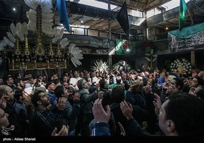 تجمع هیئتهای مذهبی در محله درکه تهران
