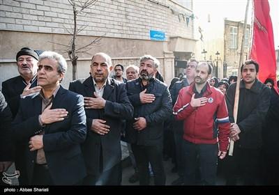 تجمع هیأت های مذهبی تهران در محکومیت هتک حرمت به ساحت مقدس حضرت اباعبدالله الحسین علیه السلام