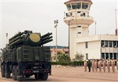 یک پهپاد ناشناس در آسمان پایگاه هوایی حمیمیم سوریه منهدم شد