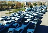 قزوین| ترافیک سنگین در آزادراههای استان قزوین