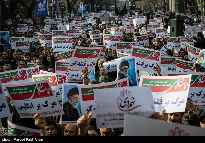 مسیرات حاشدة فی انحاء ایران تخلیدا لذکرى ملحمة الثلاثین من دیسمبر+صور