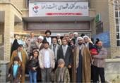 بازدید طلاب حوزه علمیه قم از گلزار شهدای تهران+عکس