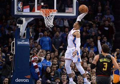 لیگ NBA| وریرز مغلوب کینگز شد/ پیروزی تاندر با درخشش وستبروک