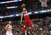 لیگ NBA| ماراتن بسکتبال به سود ویزاردز تمام شد/ برایانت رکورد زد