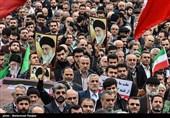 راهپیمایی بزرگداشت حماسه یوم الله 9 دی در رشت