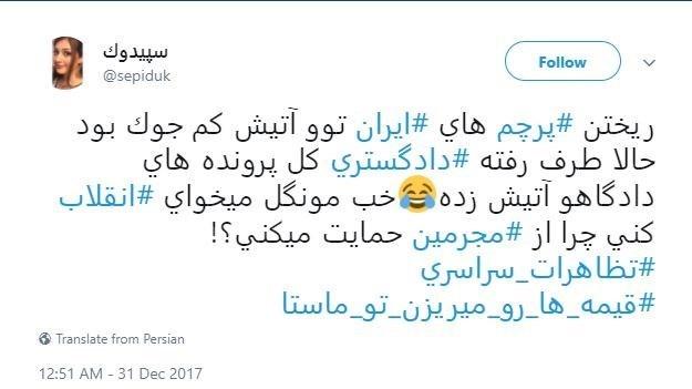 13961010113704273129388110 - واکنش مردم به آتشزدن پرچم ایران توسط اغتشاشگران + عکس