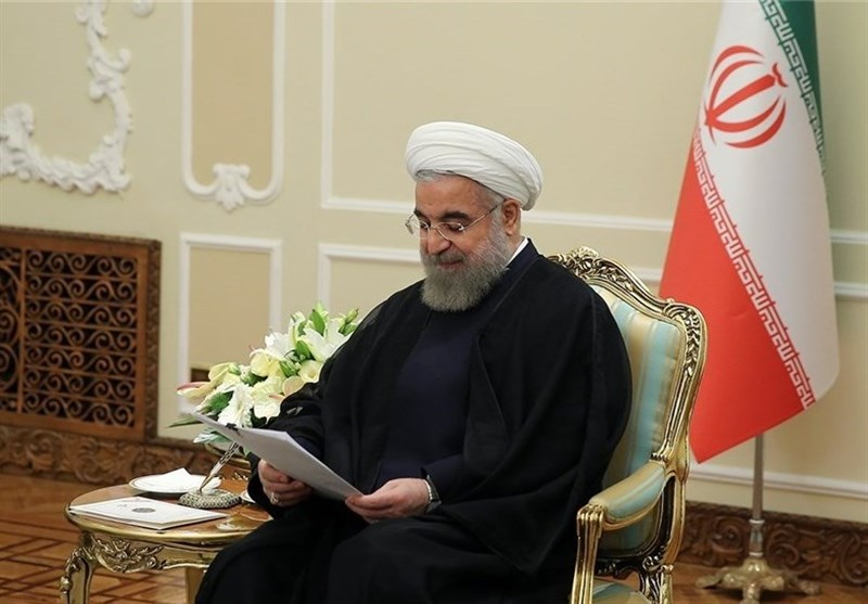 Cumhurbaşkanı Ruhani, Filistin'e Destek Kanunu Tebliğ Etti