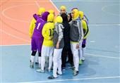 یک برد و یک باخت حاصل تلاش بانوان شیرازی در لیگ برتر فوتسال
