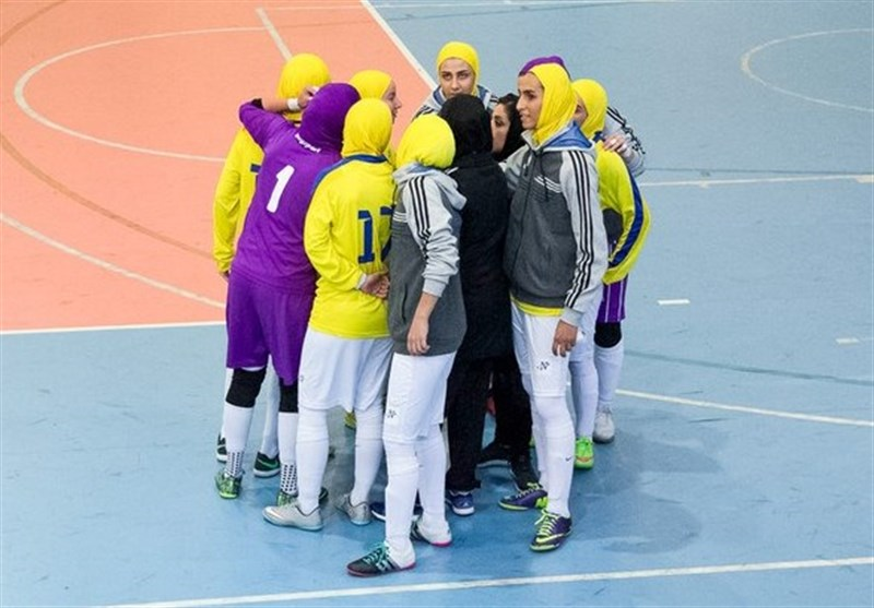 Iranian Women's Futsal Team Downs China in Friendly