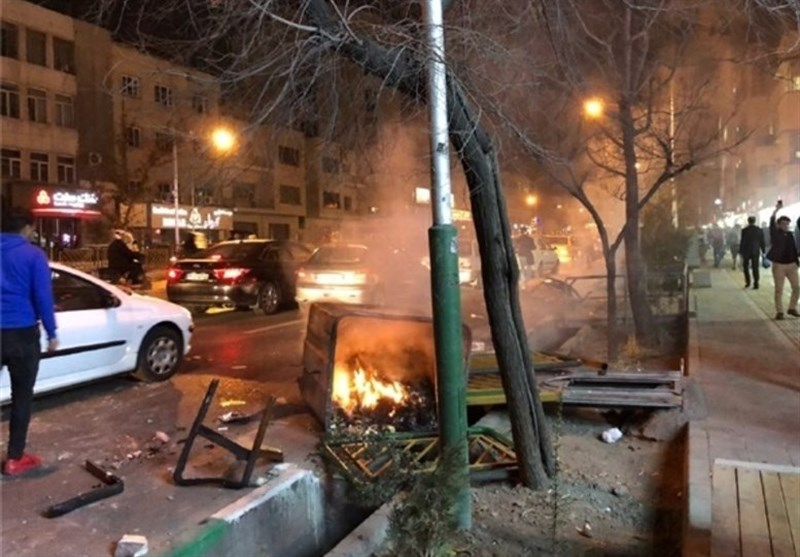Tehran Court Chief Warns Rioters of Heavy Penalties