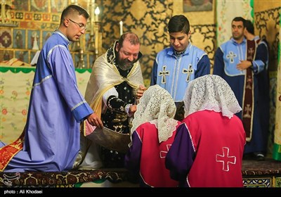 Iranian Christians Celebrate New Year at Vank Cathedral in Isfahan