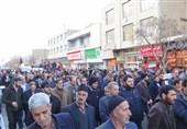تجمع مردم زنجان علیه آشوبگران/امشب تکلیف اغتشاشگران را مشخص میکنیم + فیلم
