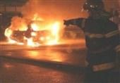 اختصاصی تسنیم| جزئیاتی از تصادف مرگبار جاده ساوه به تهران؛ آتش سوزی خودرو و کشته شدن 5 نفر