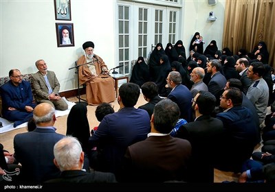 دیدار جمعی از خانوادههای شهدا با رهبر معظم انقلاب