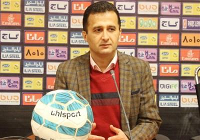 محمودزاده: راه آهن تا اینجای کار هم فوق العاده بوده است/ اگر این تیم در ادامه مسابقات شرکت نکند، به لیگ دسته سوم سقوط خواهد کرد
