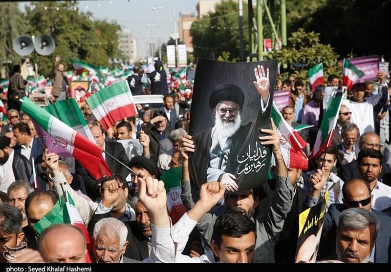 İran Halkından İslam Nizamına Destek Yürüyüşü + Foto