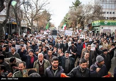 راهپیمایی مردم بجنورد در محکومیت اغتشاشات اخیر