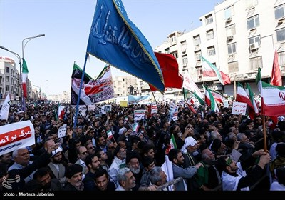 Nationwide Rallies Held in Iran to Denounce Riots