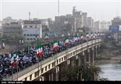 راهپیمایی عظیم شکوه وحدت در اهواز