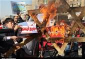 تظاهرات ضد اغتشاشگران در اهواز