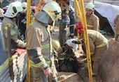 نجات کارگر از عمق چاه