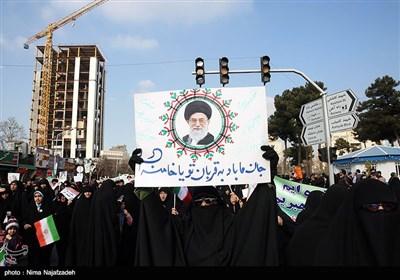 راهپیمایی مردم مشهد در محکومیت اغتشاشات اخیر