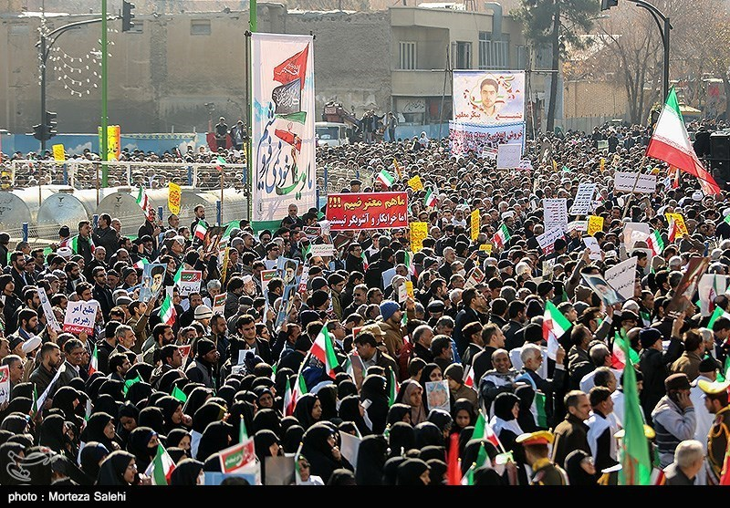 Iranians Stage Massive Rallies for Second Day to Condemn Riots (+Photos)