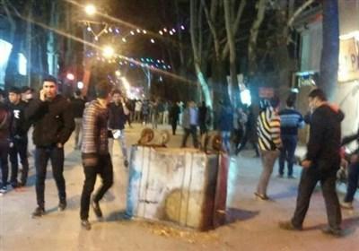 3 مامور ناجا در حمله یک خودرو پراید در محدوده پاسداران مجروح شدند