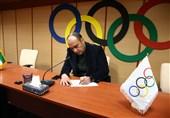حکم رضوانی در هیئت اجرایی کمیته ملی المپیک به وی اهدا شد
