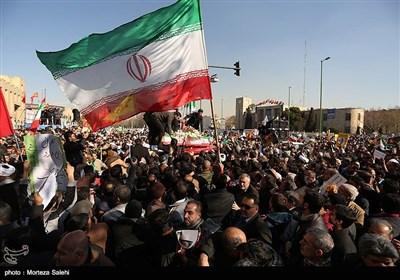 راهپیمایی در محکومیت اغتشاشات اخیر - اصفهان