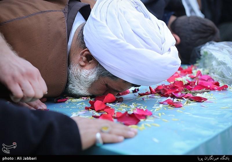 تشییع شهیدان مدافع حرم شهید رضابخش یعقوبی و شهید تقی رستمی
