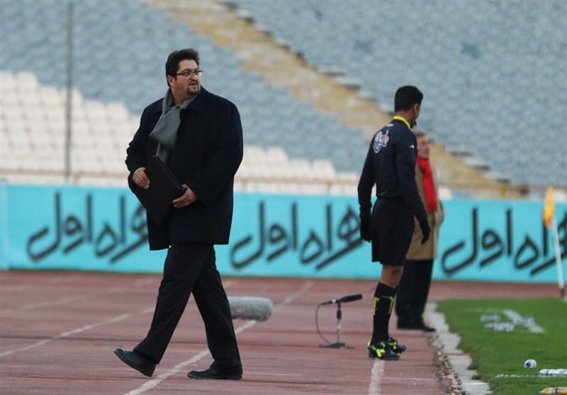 افاضلی: بعد از جام جهانی حرفهایم را در مورد تیم ملی میزنم/ سعی میکنیم از استقلال امتیاز بگیریم